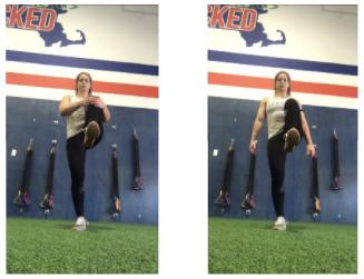 Hip Flexor Strength Test
