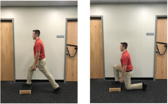 Front Foot Elevated Lunges