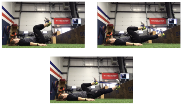 Isometric Hip Flexor Marches