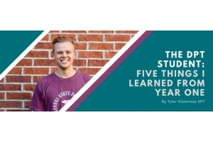 The DPT student: 5 lessons from year 1
