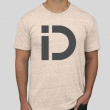 iDryNeedle American Apparel Tri-Blend T-Shirt Oatmeal (FRONT)