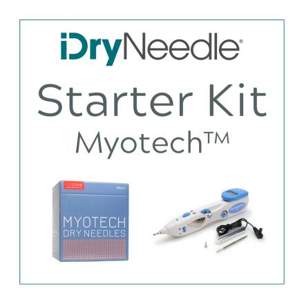 iDryNeedle Starter Kit featuring Myotech 2.0 Elite Dry Needles®