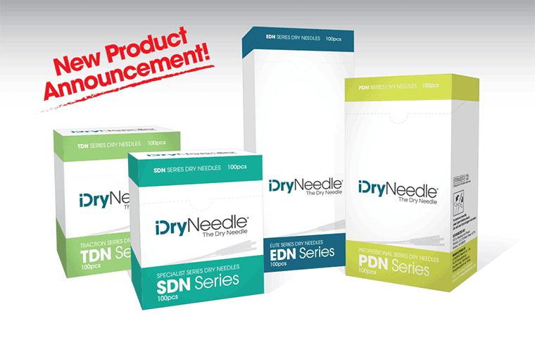iDryNeedle Launches Line of Technique: Specific Products for Dry Needling Clinicians